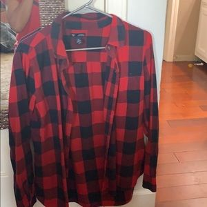Red and Blue Checkered Shirt